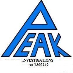Peak Investigations