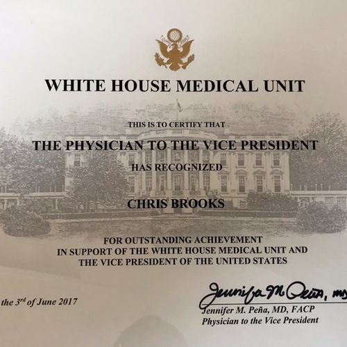 White House Recommendation