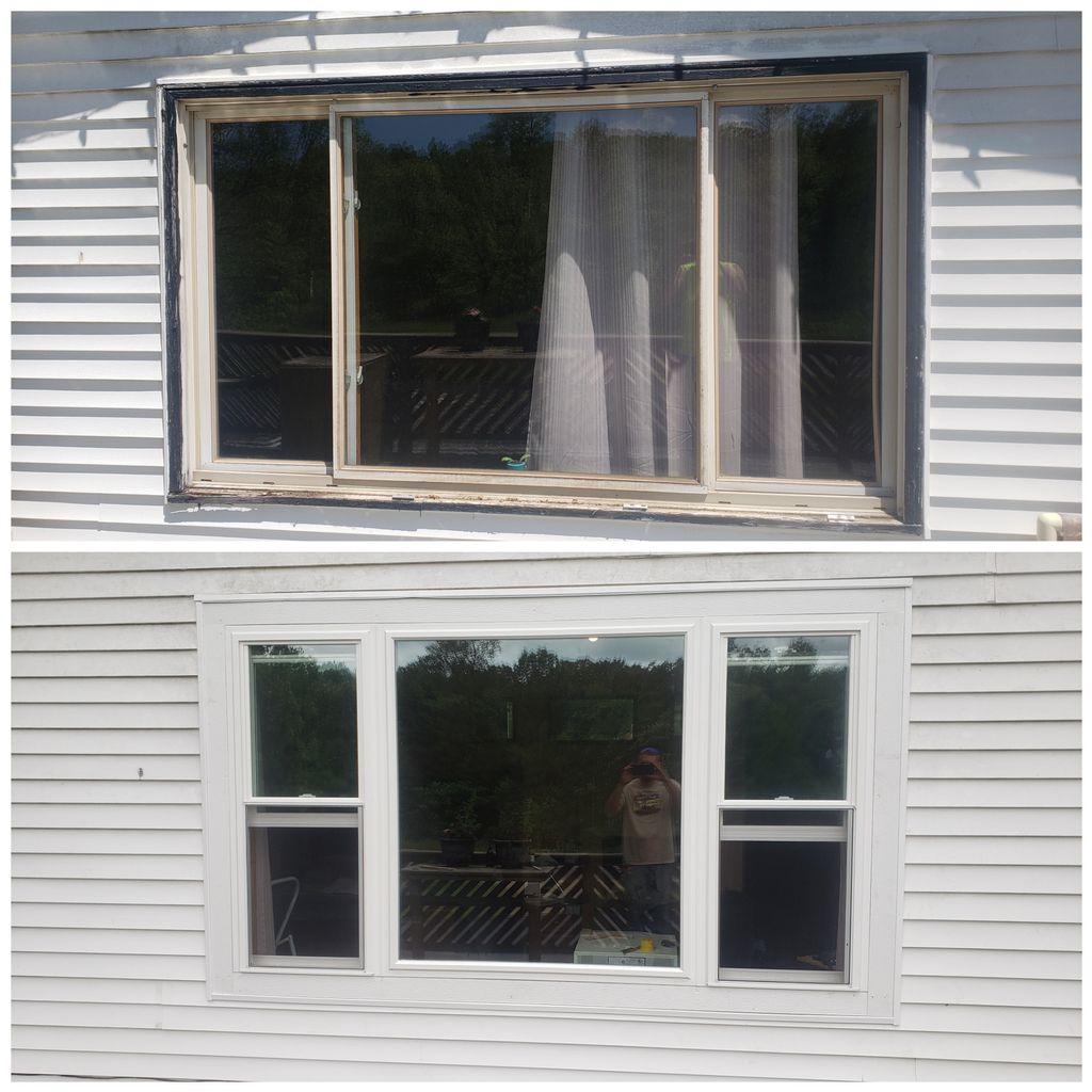 Window reomodel