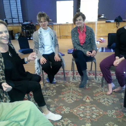 Facilitating a group about creativity