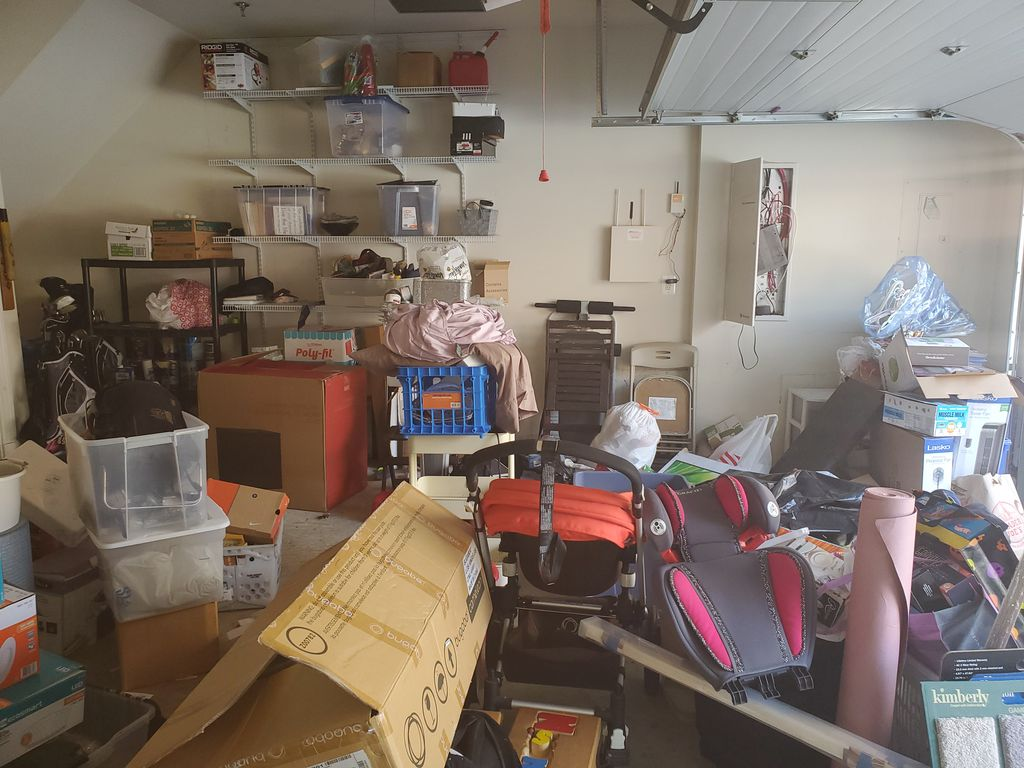 Garage Cleaning and Organization