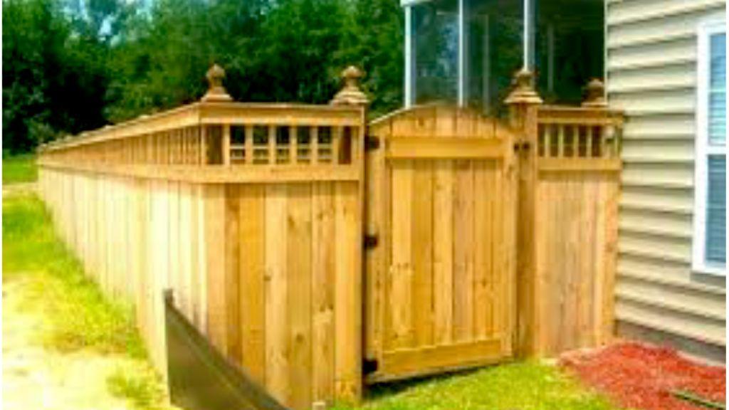 Medieval fence