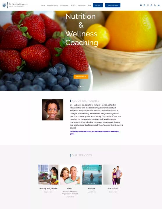 Dr Sheila Hughes Weight Loss & Wellness
