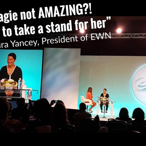 eWomenNetwork Entrepreneur Conference & Expo. Magie Speaking at eWomenNetwork to over 3,500 women about her inspirational message.
