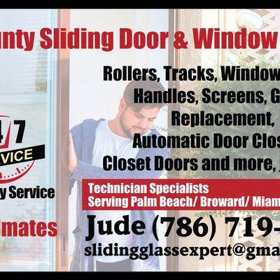 Avatar for Tri-County SLIDING DOOR&WINDOW REPAIR North Miami Beach, FL Thumbtack