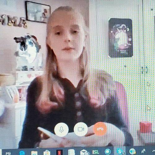 German online Skype class