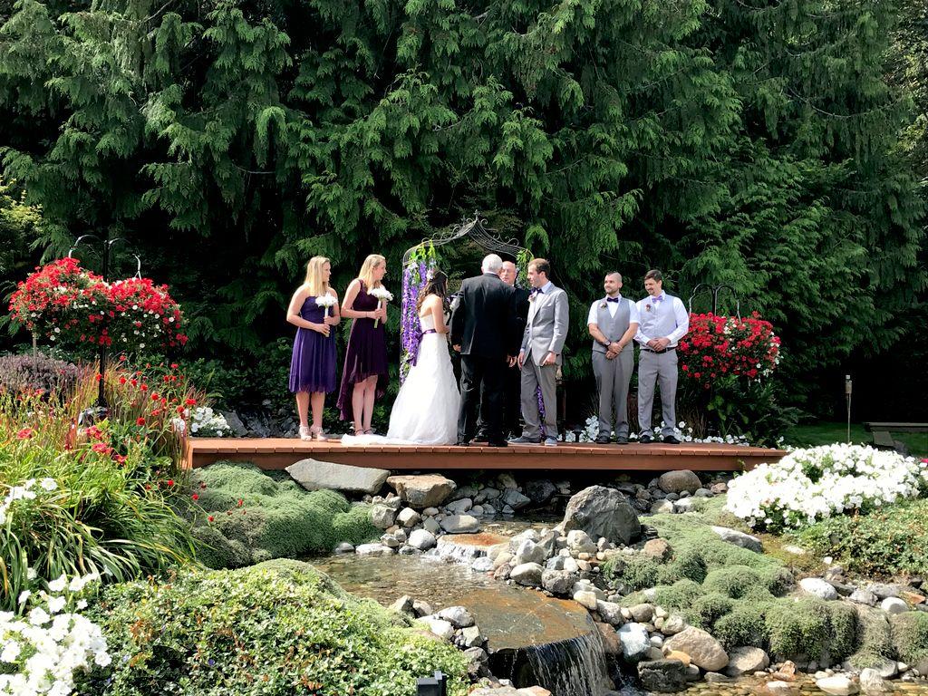Lake Glenwood Wedding