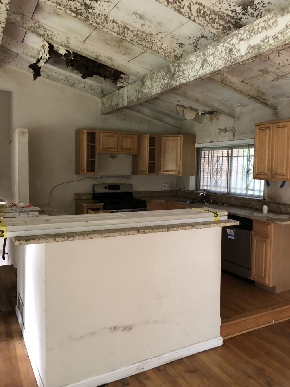 Full House interior demolition