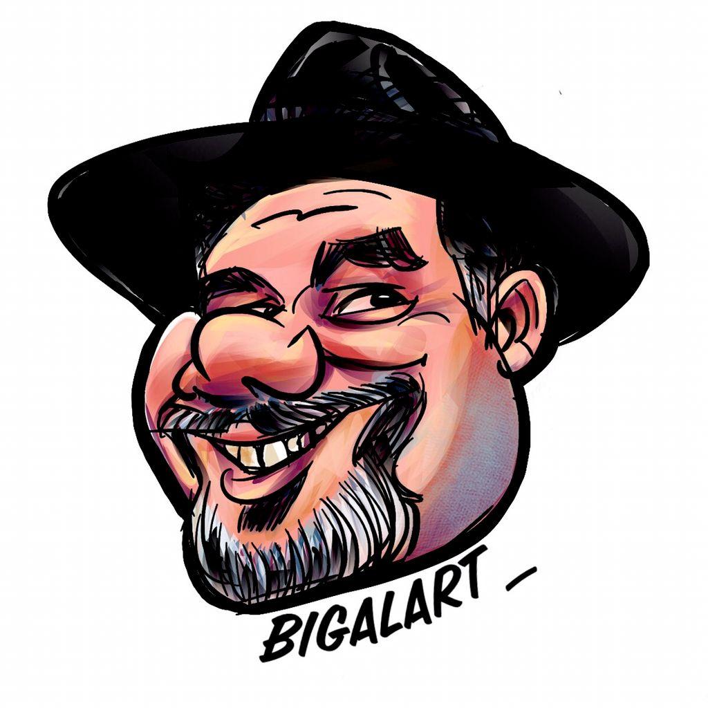 Big Al Caricature