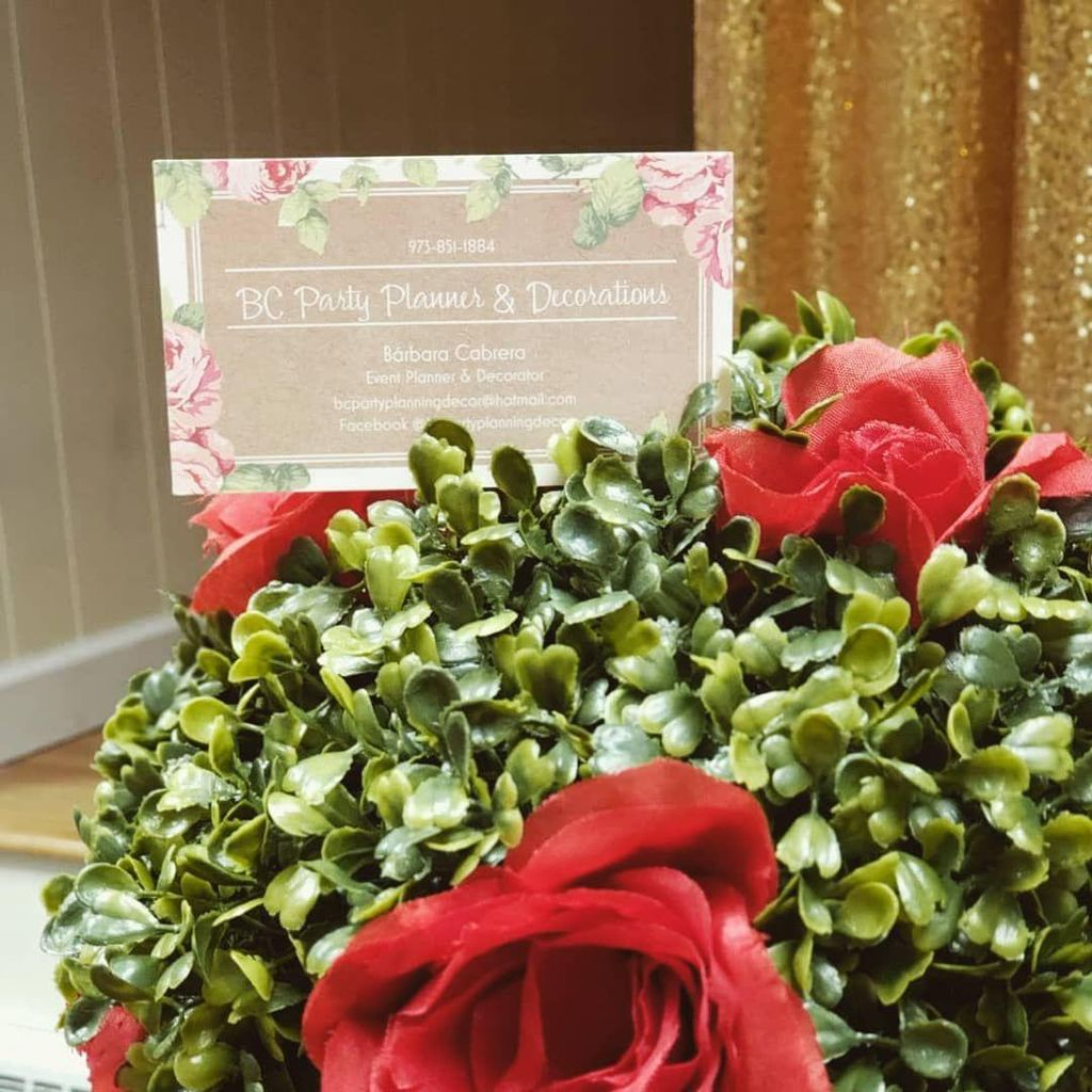 BC Party Planner & Decorations