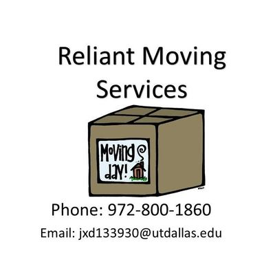 Avatar for Reliant Moving Services LLC Plano, TX Thumbtack