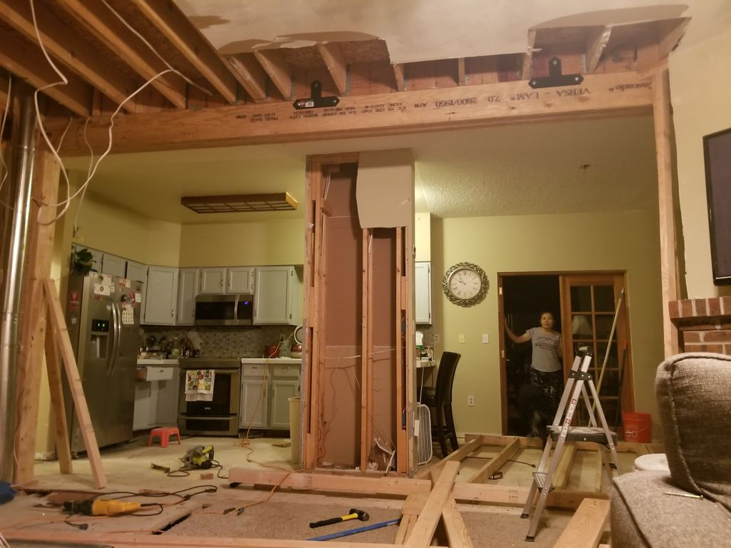 Complete Kitchen Remodel with electrical and Plumbing