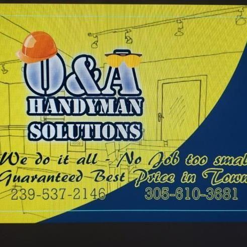 O&A handyman solutions