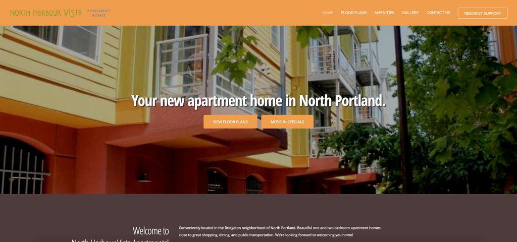 Apartments Website