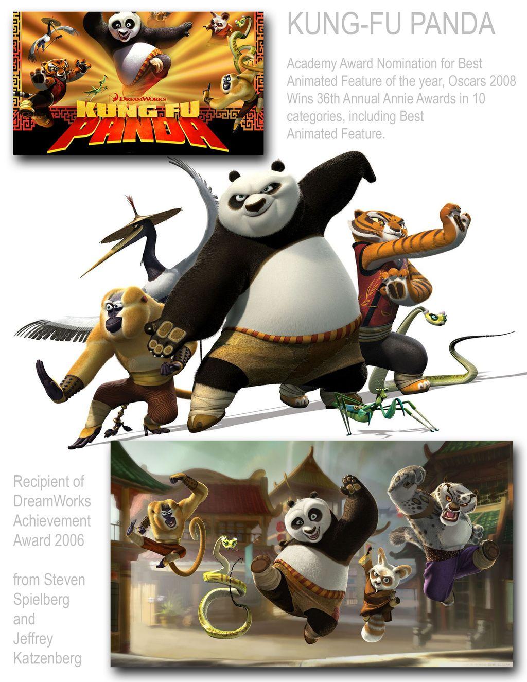 Kung Fu Panda - 130 Million production cost