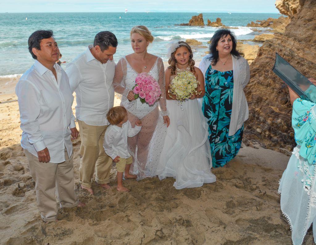 Beach Wedding & Photos
