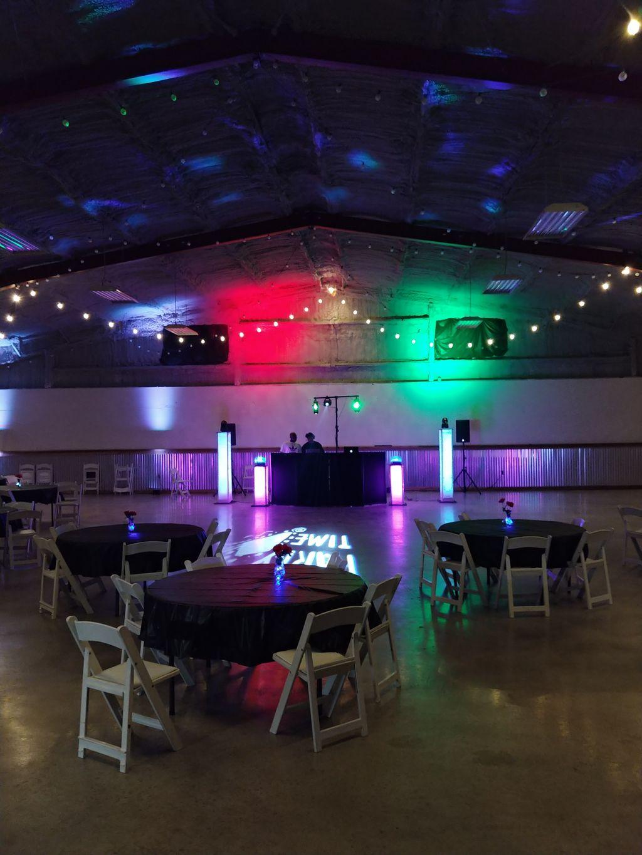 Juneteenth Party setup