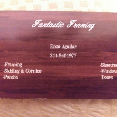Avatar for Fantastic Framing Richardson, TX Thumbtack