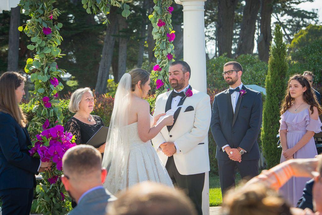 Wedding Officiant - Half Moon Bay 2019