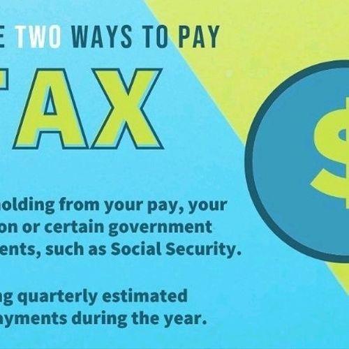 Tax planning is key.