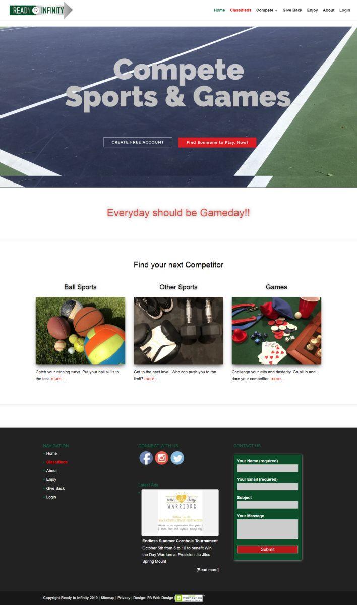 Gaming Classifieds Membership Website
