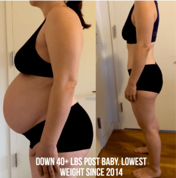 Baby weight loss
