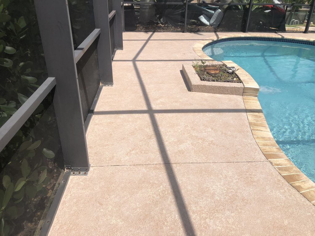 Decorative Driveway and Pool Deck