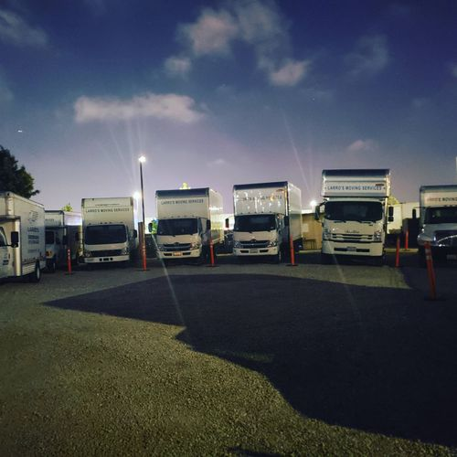our fleet can accommodate big or small moves call us!