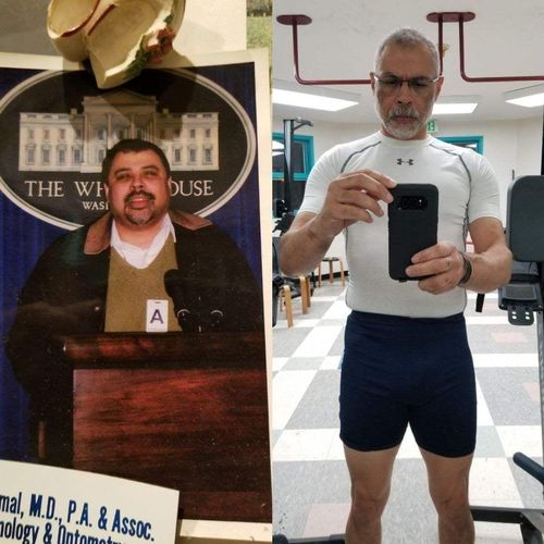 my client, Joe, proves that loosing excess weight and keeping it off is all about changing your lifestyle, not relying on fad diets and gimmicks!