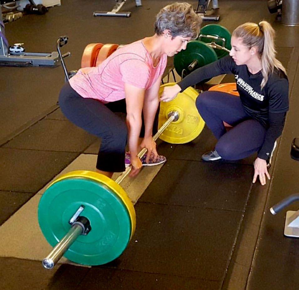Womens Weight-Training Class