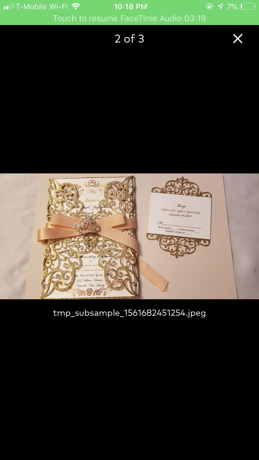 Wedding and Event Invitations - sweet 16,2019
