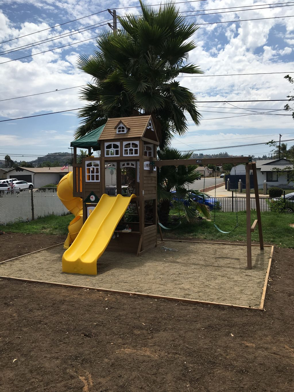 Play Equipment Construction and Assembly - El Cajon 2019