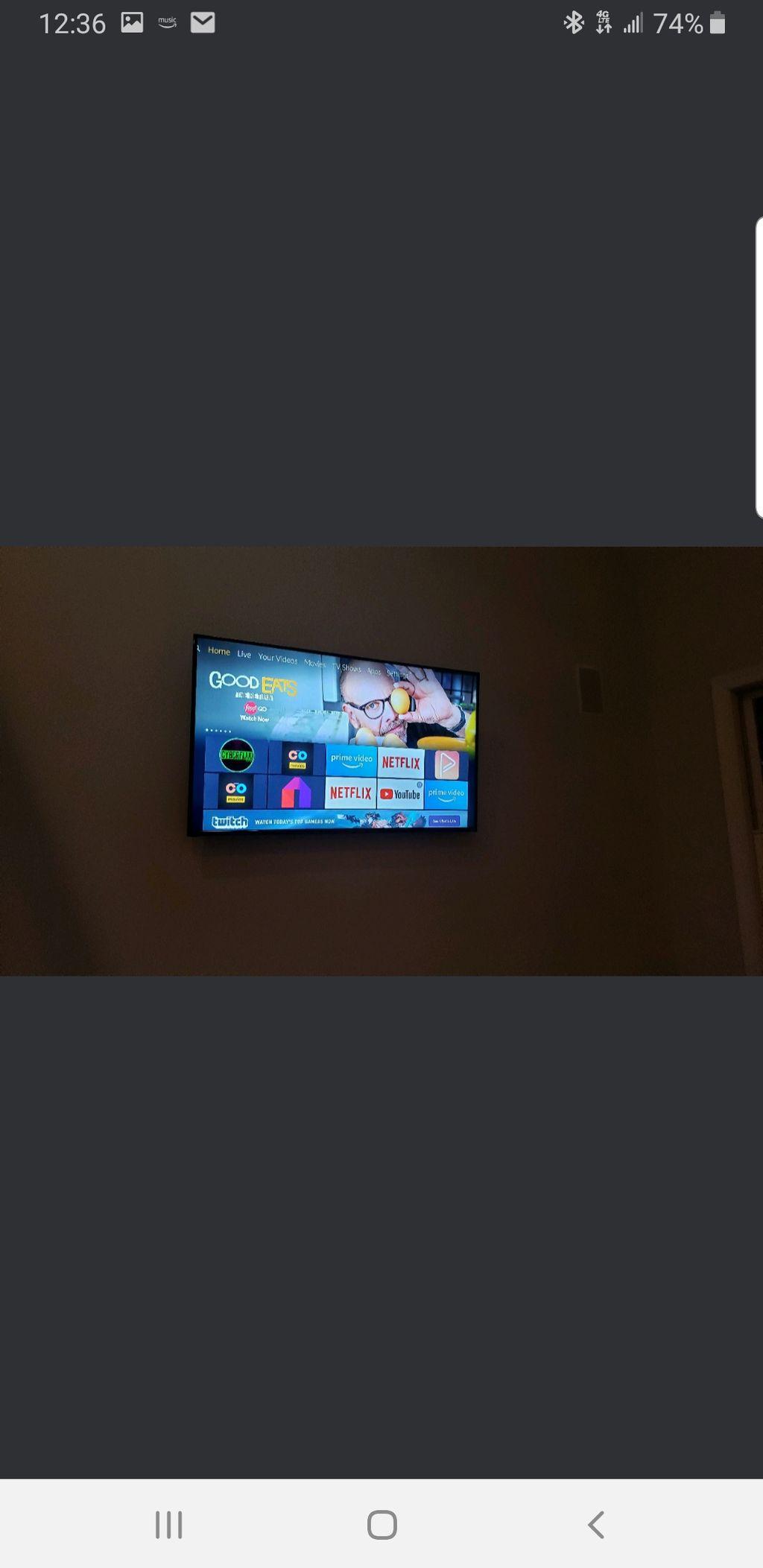 TV mount- Mechanicsburg 2019