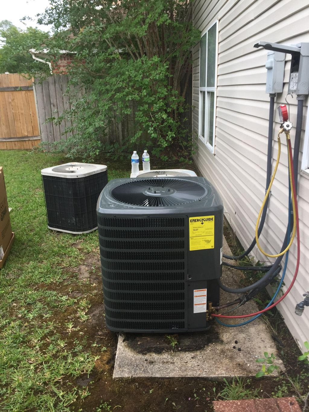 Install a new condenser