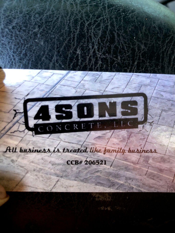 4Sons Concrete LLC