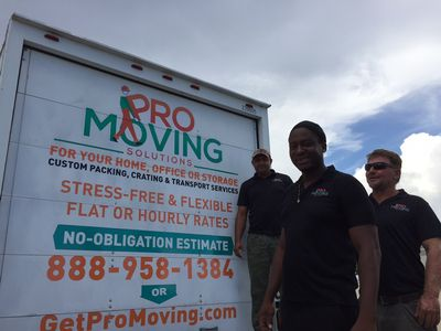 Avatar for Pro Moving Solutions Fort Lauderdale, FL Thumbtack