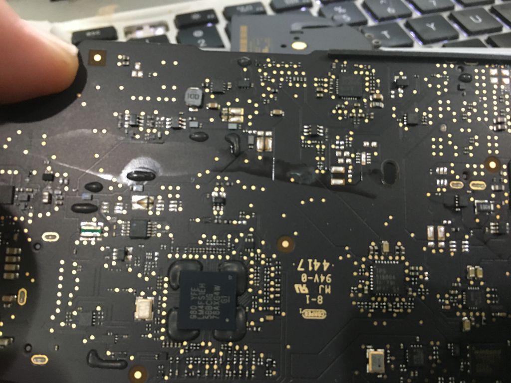 Computer Restoration - Liquid Damage