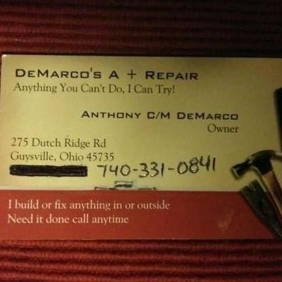 Avatar for DeMarco's A + Repair / Dirt - B - Gone