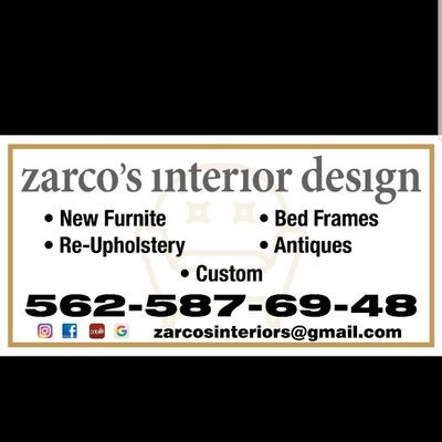 Avatar for ZARCOS INTERIOR DESIGN Paramount, CA Thumbtack