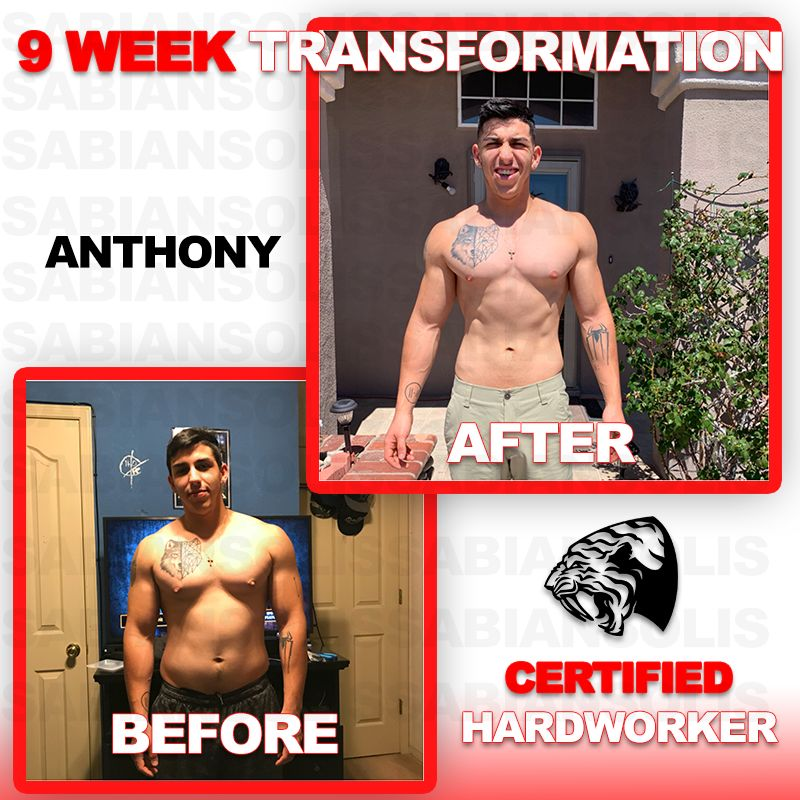 Anthony Azarte Initial 8 Week Training