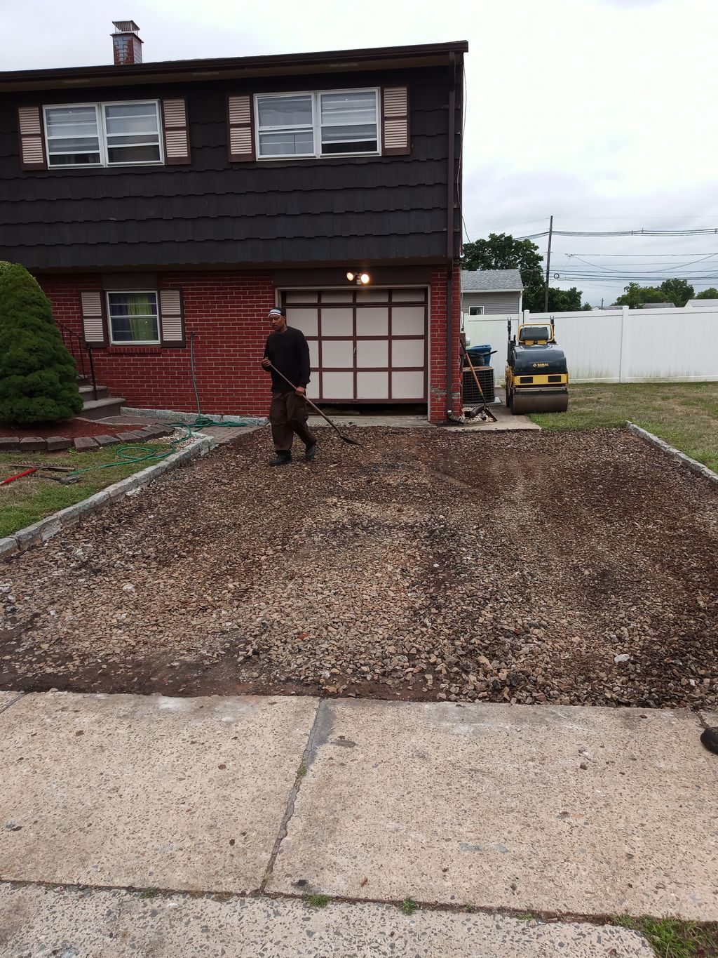 Remove Old Asphalt,Replace,And Sealcoat