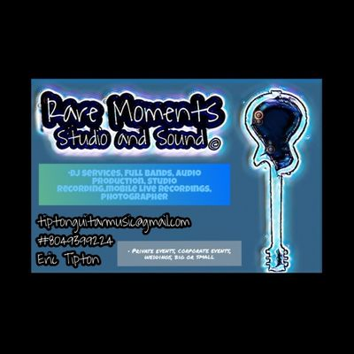 Avatar for Rare Moments Sound and Studio