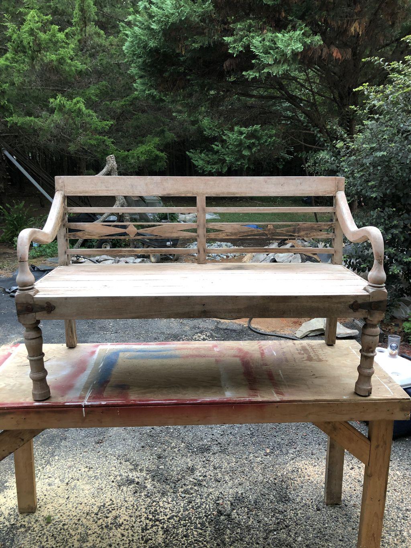 Bench Refinishing