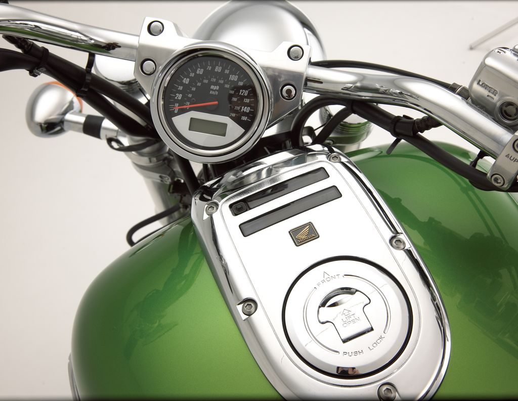 Motorcycle accessory studio photo session