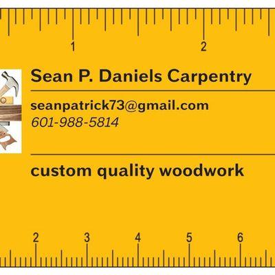Avatar for Sean P Daniels Carpentry Clinton, MS Thumbtack