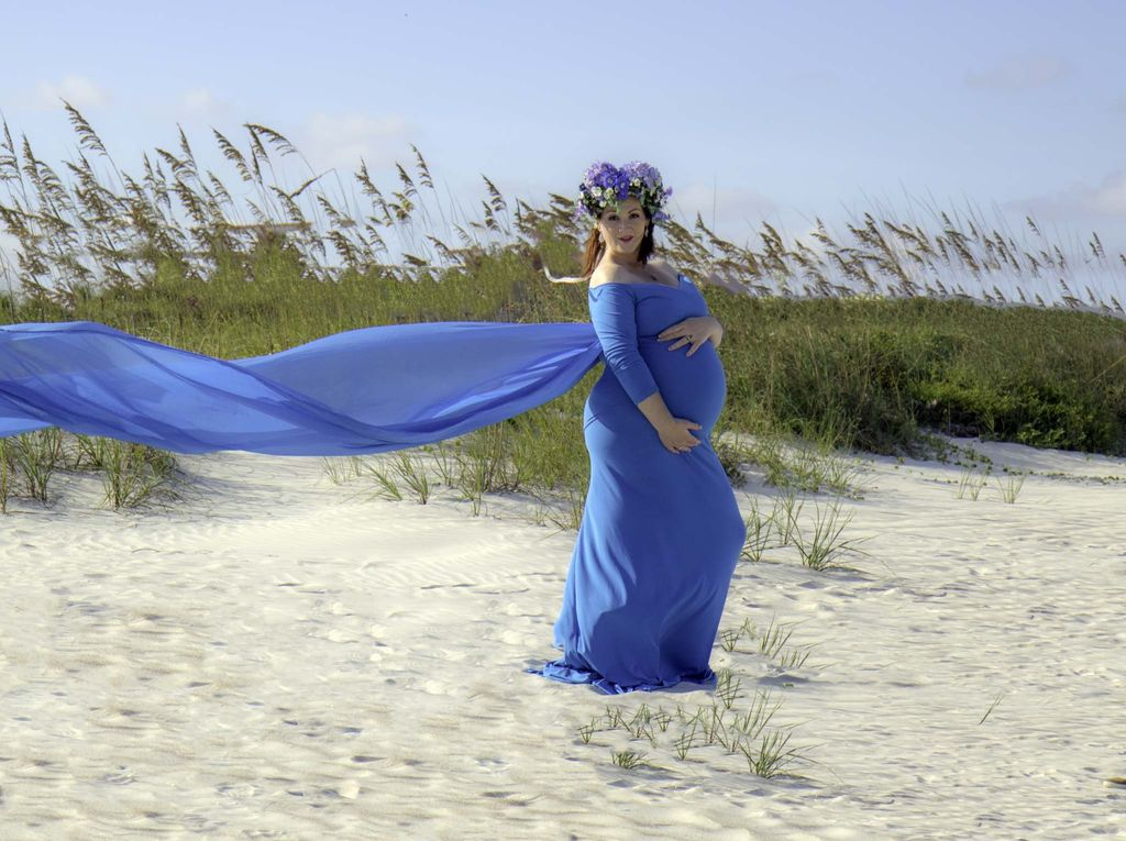Maternity at the beach
