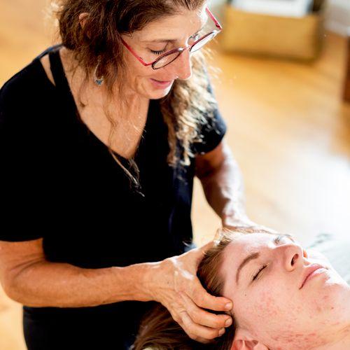 Scalp Massage so very relaxing