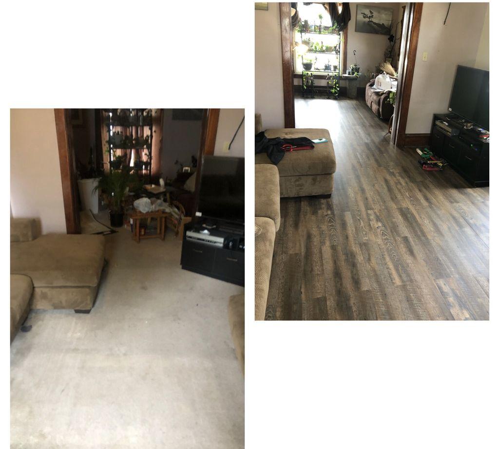 Flooring update