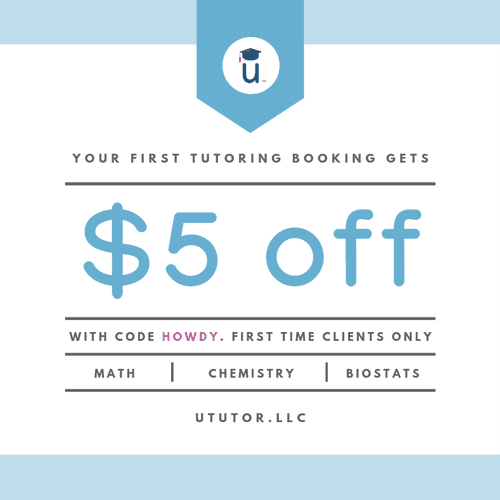 New Student Discount: $5 off!