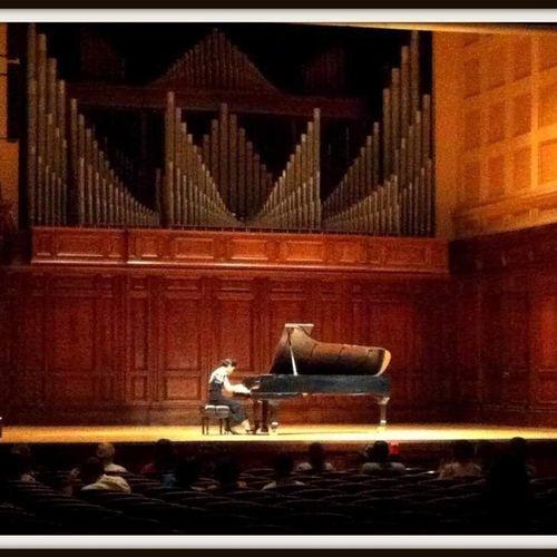 Solo recital at Smith Memorial Hall